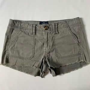 American Eagle Outfitters shortie denim shorts